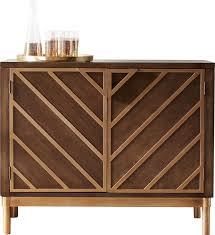Metal Bar Cabinet Modern Wine Bar Cabinets Allmodern
