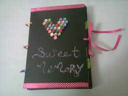 diy 14 sweet memory photo album youtube