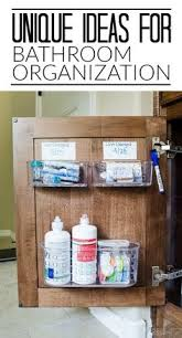 Organizing Ideas For Bathrooms by O Is For Organize Under The Bathroom Sink Or The Kitchen Sink