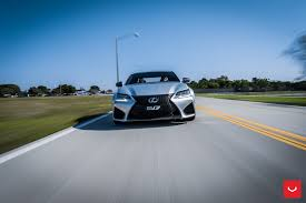 lexus gsf custom silver lexus gs f with vossen x work custom wheels u2014 carid com gallery