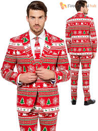 christmas suit mens deluxe christmas opposuit festive oppo suit fancy