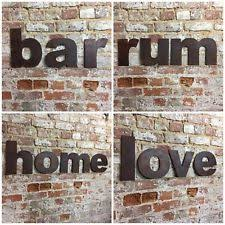 metal letters home decor ebay