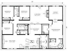 floor plans for 5 bedroom homes 5 bedroom 4 bath rectangle floor plan pleasant idea 6 bedroom home