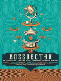 bassnectar nye poster bassnectar atlantic city 2017