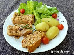 cuisiner le thon en boite terrine de thon chez vanda