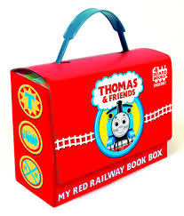 thomas friends red railway book box thomas u0026 friends