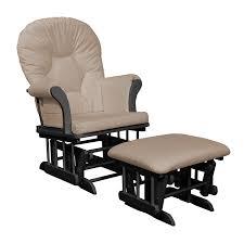 nursery chair and ottoman amazon com shermag dayton sleigh glider rocker and ottoman