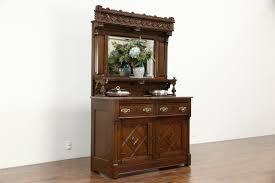 sold eastlake oak 1880 u0027s antique sideboard server or buffet