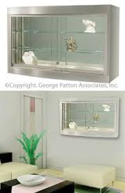 Wall Mounted Cabinet With Glass Doors Best 25 Wall Mounted Display Case Ideas On Pinterest Make Your