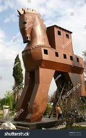 trojan horse troy stock photo 50850421 shutterstock