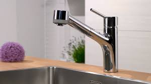 Kitchen Faucets With Pull Out Spray by Hansgrohe Talis S Single Lever Kitchen Mixer With Pull Out Spray