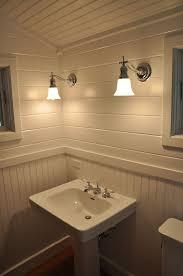 Wainscoting Bathroom Ideas Luxurious Beadboard Ceiling Bathroom E2 80 94 Modern Design Loversiq