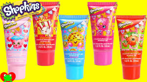 shopkins bath bubbles and shower gels youtube