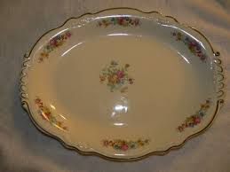 homer laughlin china virginia vintage homer laughlin virginia platter b46 n 8 circa 1946
