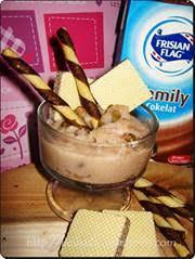 cara membuat es krim wafer resep es krim hunkwe cokelat minuman khas indonesia