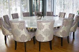 large round dining table seats 12 contemporary style for dining