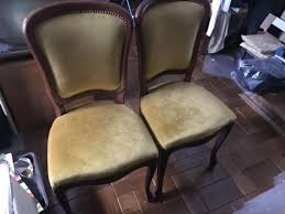 polster stühle esszimmer polster stühle esszimmer braun goldgelb barock in hannover