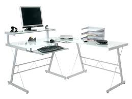 Glass Corner Computer Desks For Home Corner Glass Computer Desk Desk Furniture Depot Small Glass
