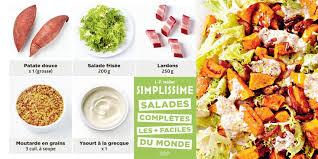 simplissime cuisine salade paysanne à la patate douce simplissime recettes femme