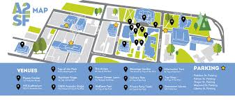 University Of Michigan Parking Map by Map Ann Arbor Summer Festival