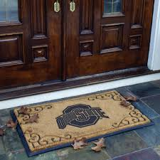 Texas Longhorn Home Decor Full Size Doormat Ohio State College Fans Ohio State Home