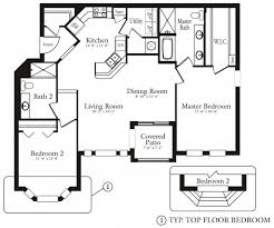 Basic Floor Plan by Floor Plans The Club At Hidden River Apartments In Tampa The