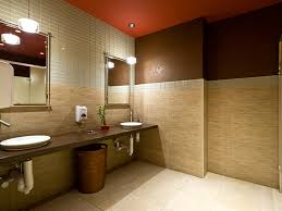 commercial bathroom ideas this commercial restroom renovation for a restaurant in the