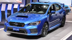 subaru sti refreshed subaru wrx and sti start 340 more than last year