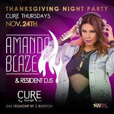 cure thursdays thanksgiving day celebration