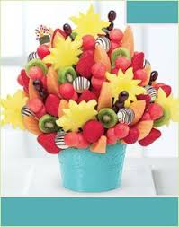 send fruit bouquet edible arrangements orange blossom swizzle apple fruit truffles