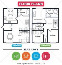architecture plan with furniture house floor plan automatic door