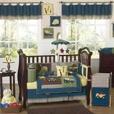 Construction Crib Bedding Set Construction Crib Bedding Set By Sweet Jojo Designs