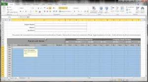 Construction Punch List Template Excel Excel 2010 Construction Punch List Part V Data Protection