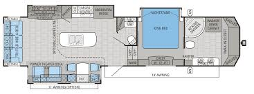 Floor Plan Financing For Car Dealers 2016 Designer Luxury Fifth Wheel Floorplans U0026 Prices Jayco Inc