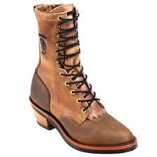 womens boots made in america chippewa boots l29405 s made 10 inch packer boot