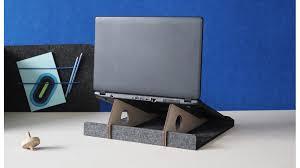 bureau nomade bureau de poche en feutre
