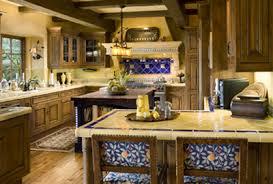 Mediterranean Style Kitchens - mediterranean style kitchen country homes