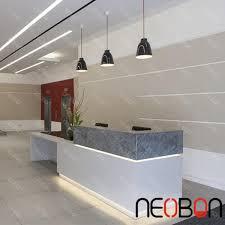 small nail salon reception desk counter white curved reception desk for hotel spa reception desk