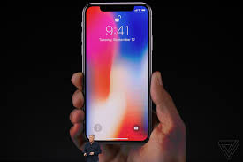 iphone x announced with edge to edge screen face id and no home