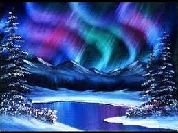 how to paint northern lights beginners learn to paint acrylic aurora borealis landscape the