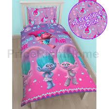 disney girls bedding disney and character kids single duvet cover sets boys girls