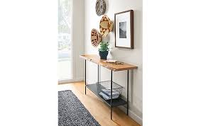 Room And Board Console Table Chilton Console Table In Cherry Modern Entryway Furniture Room