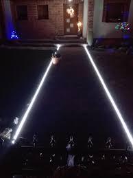 lighting the entrance path with led strip lights 5050 ledstrip strip ledtape