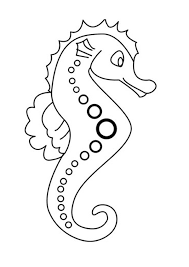 coloring pages glamorous seahorse coloring pages seahorse