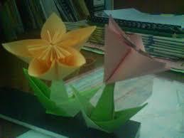 cara membuat origami bunga yang indah seni itu indah cara cara membuat origami bunga