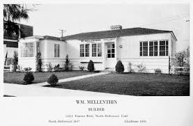 3 Bedroom Apartments San Fernando Valley Before The Birdhouse U2013 Some Early Mellenthin Homes Paradise Leased
