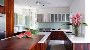 cabinet cherry cabinets kitchen keep up solid wood kitchen