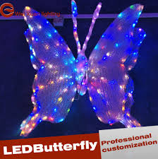 Christmas Lights Festival by Led Butterfly Christmas Lights Festival Decorative View Landscape