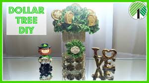 dollar tree diy 2017 st patrick u0027s day floral coin arrangement