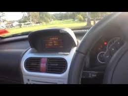 Tigra Interior Holden Tigra Video Tutorial Electric Roof And Boot Operation Youtube